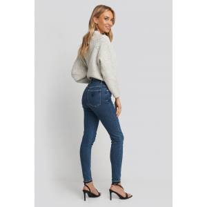 Abrand A High Skinny Ankle Basher Jeans - Blue