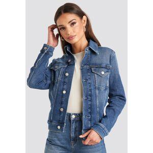 Calvin Klein Foundation Trucker Jacket - Blue