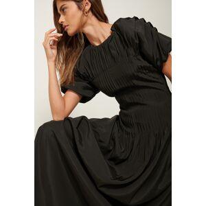 ART Pintucked Dress - Black