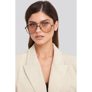 NA-KD Accessories Basic Pilot Sunglasses - Black