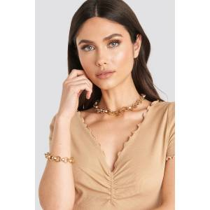 NA-KD Accessories Chain Necklace and Bracelet Set - Gold