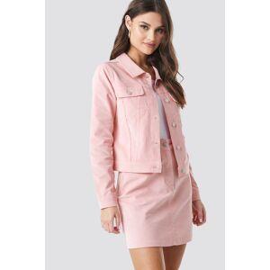 NA-KD Co-ord Corduroy Jacket - Pink