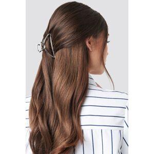 NA-KD Accessories Metal Hair Clip - Silver