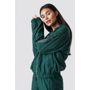 The Classy Issue x NA-KD The Classy Track Jacket - Green