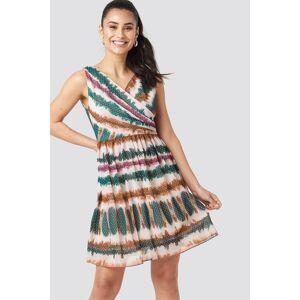Trendyol Batik Patterned Mini Dress - Multicolor