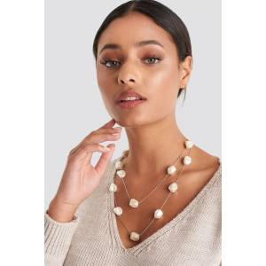 Trendyol Stone Layered Necklace - Silver