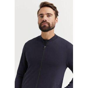 Bread & Boxers Tröja Jersey Jacket Blå