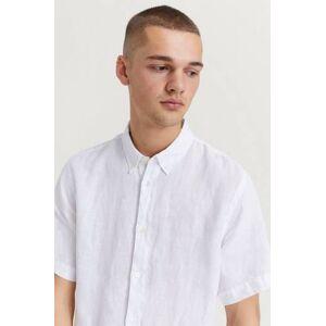 NN07 Skjorta Short New Derek 5706 White Vit