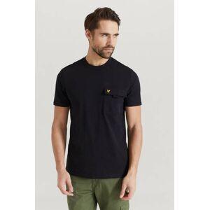 Scott Lyle & Scott T-shirt Chest Pocket Svart