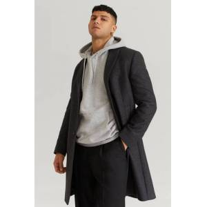 William Baxter Rock Dean Wool Coat Grå  Male Grå