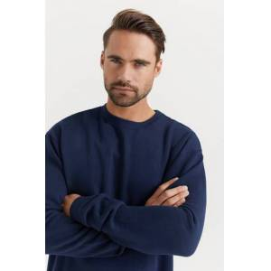 Studio Total Sweatshirt Favourite Crew Blå  Male Blå
