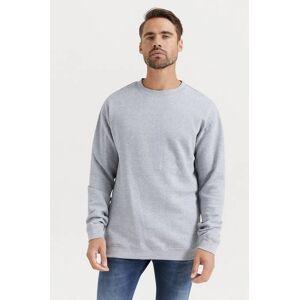 Studio Total Sweatshirt Favourite Crew Grå  Male Grå