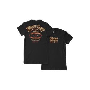 Monster Garage Dismantlers T-Shirt Dam Svart/