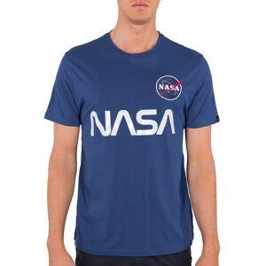 Alpha Industries NASA Reflective - T-shirt - Blå - L