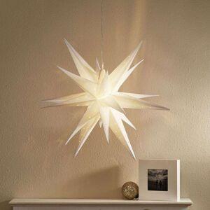 Markslöjd LED-stjärna Vectra 3D för utomhusbruk, Ø 80 cm
