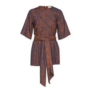 By Malene Birger Miata T-shirts & Tops Short-sleeved Brun By Malene Birger