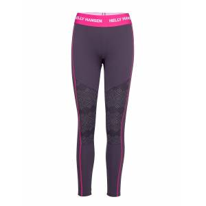 Helly Hansen W Hh Lifa Active Graphic Pant Base Layer Bottoms Lila Helly Hansen