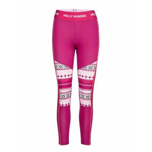 Helly Hansen W Hh Lifa Active Graphic Pant Base Layer Bottoms Rosa Helly Hansen