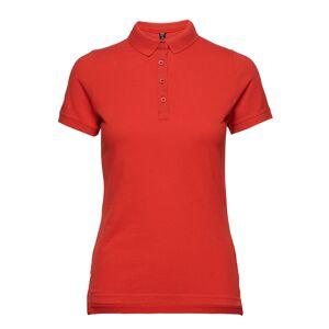 Helly Hansen W Crew Pique 2 Polo T-shirts & Tops Polos Röd Helly Hansen