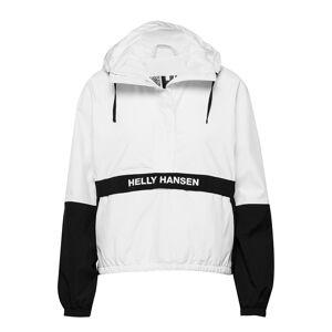 Helly Hansen W P&C Rain Anorak Outerwear Jackets Anoraks Vit Helly Hansen