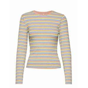 ONLY Onlneon L/S Top Jrs T-shirts & Tops Long-sleeved Multi/mönstrad ONLY