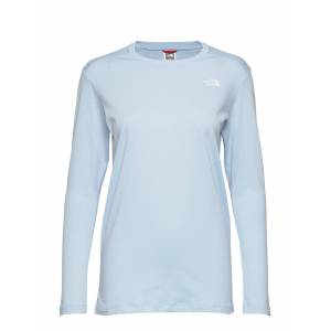 The North Face W L/S Simpledome Tee T-shirts & Tops Long-sleeved Blå The North Face