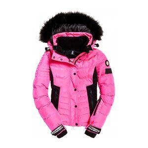 SUPERDRY SPORT® Luxe Snow Puffer Dam Skidjacka rosa