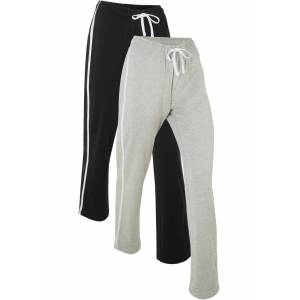 bpc bonprix collection Joggingbyxa, lång, nivå 1 (2-pack)