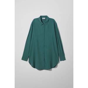 Conform Cupro Shirt - Turquoise
