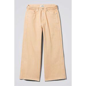 Veer Peach Jeans - Beige