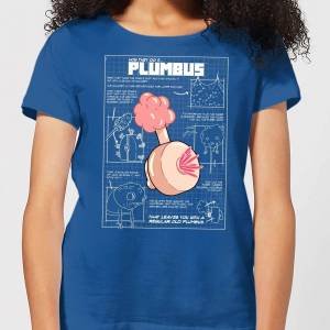 Rick and Morty Zavvi Exclusive Rick and Morty Plumbus Women's T-Shirt - Royal Blue - M - Royal Blue
