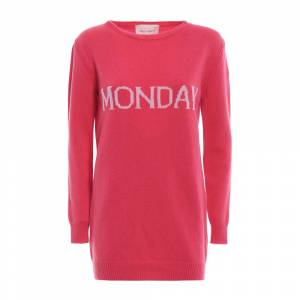 alberta ferretti Monday cashmere and wool long sweater