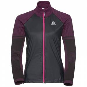 Odlo Women's Velocity Element Jacket Svart