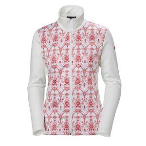 Helly Hansen Women's Graphic Fleece Jacket Röd
