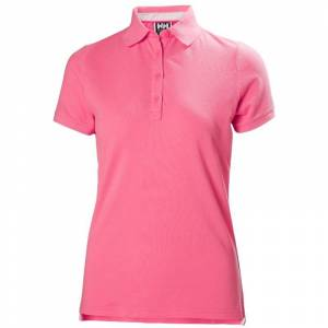 Helly Hansen Women's Crew Pique 2 Polo Rosa