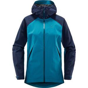 Haglöfs Esker Jacket Women Blå