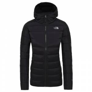The North Face Women's Stretch Down Hoodie Svart