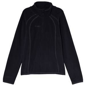 Bergans Ombo Youth Half Zip Fleecetröja Dark Navy 140 cm (9-10 år)