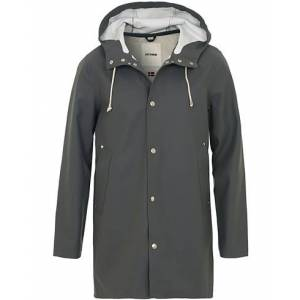 Stutterheim Stockholm Raincoat Charcoal