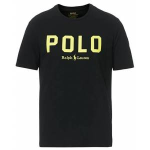 Polo Ralph Lauren Logo Crew Neck Tee Black