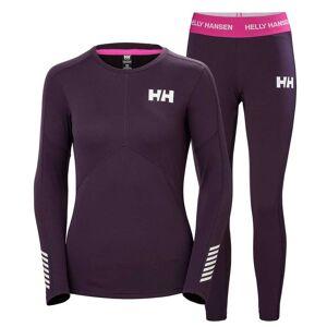 Helly Hansen W Hh Lifa Active Set XS Purple