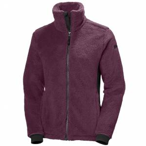 Helly Hansen W Precious Fleece Jacket L Purple