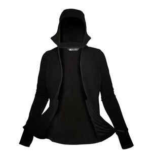Helly Hansen Women's Power Stretch Pro Glacier Fleece Jacket  Hh Se XL Black