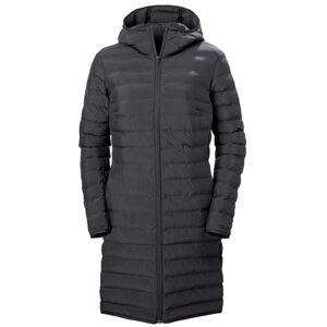 Helly Hansen Women Mono Material Long Lightweight Coat In Polyester Materials   L Black
