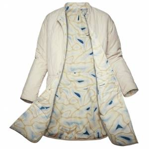 Helly Hansen Women's Jpn Reversible Quilted Insulator Coat   L Beige