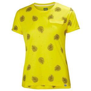 Helly Hansen W Lomma Tshirt L Yellow