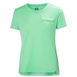 Helly Hansen W Lomma Tshirt M Green