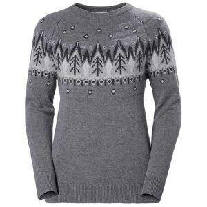Helly Hansen W Wool Knit Sweater XS Grey