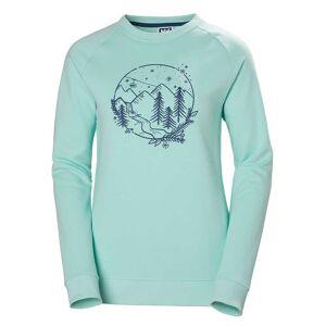 Helly Hansen W F2f Cotton Sweater XXL Blue