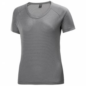 Helly Hansen Women's Verglas Pace Technical T-shirt   Hh Se L Grey